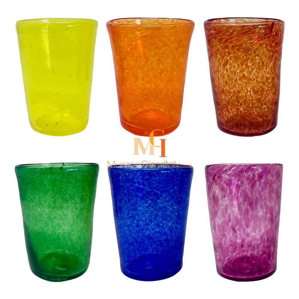 威尼斯手工彩绘玻璃杯