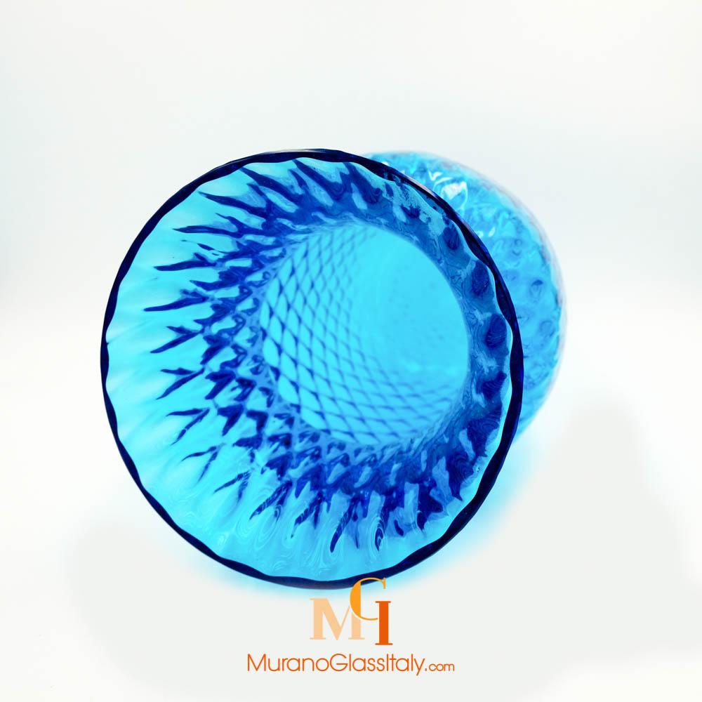 vase fleur en verre murano