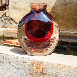 vase ancien verre murano