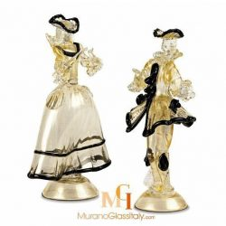 venetian glass figurine