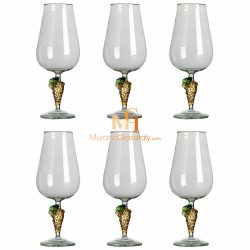 murano wine glass