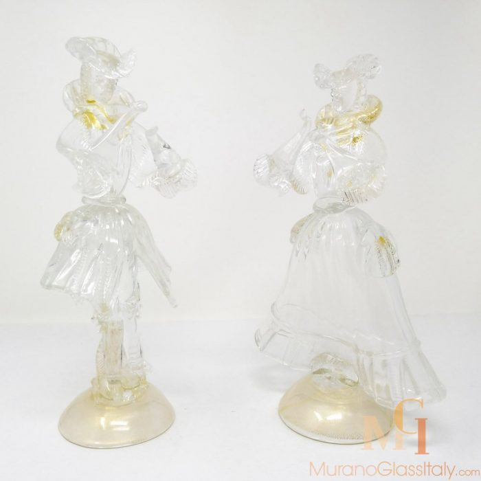 venetian glass figurine