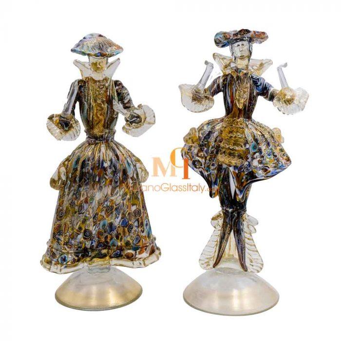 murrine figurine