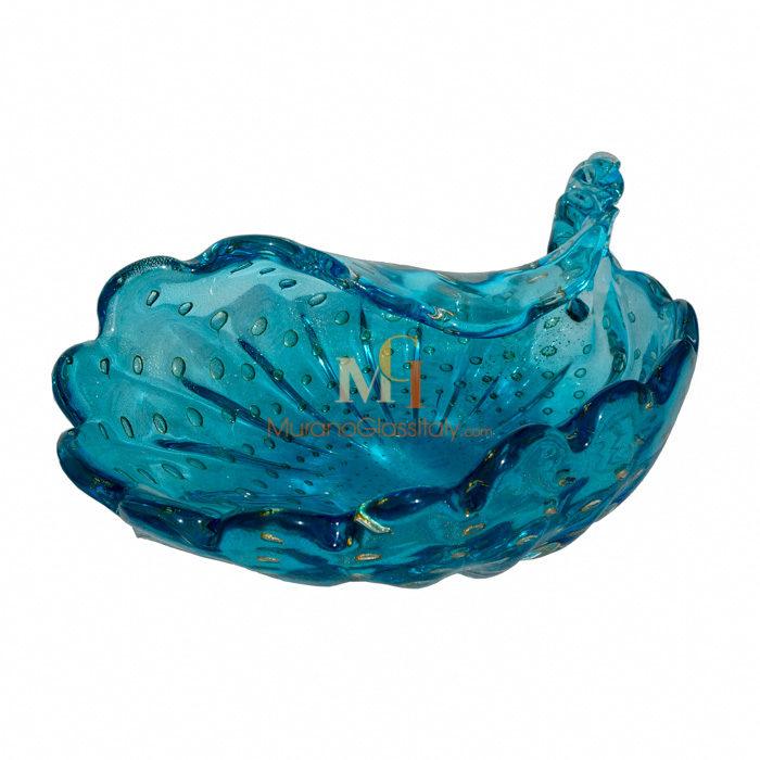 手工吹制玻璃饰品雕塑