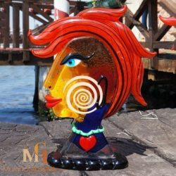 modern glass sculpture Badioli