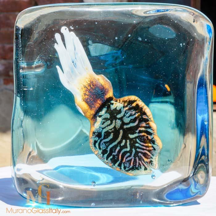 水晶海洋动物摆件