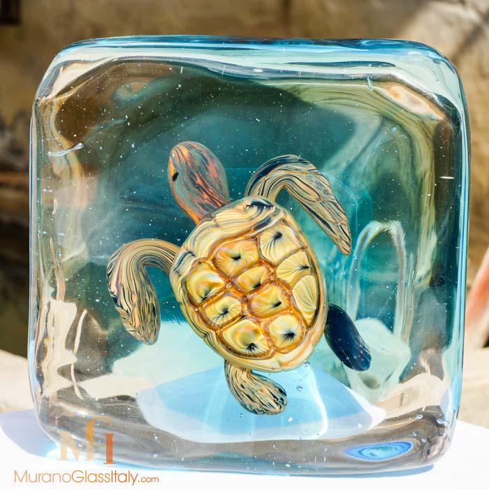 手工水晶海龟