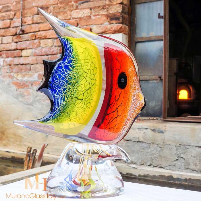 poisson en verre de murano
