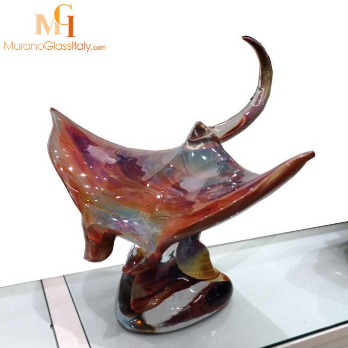 意大利手工玻璃鱼工艺品