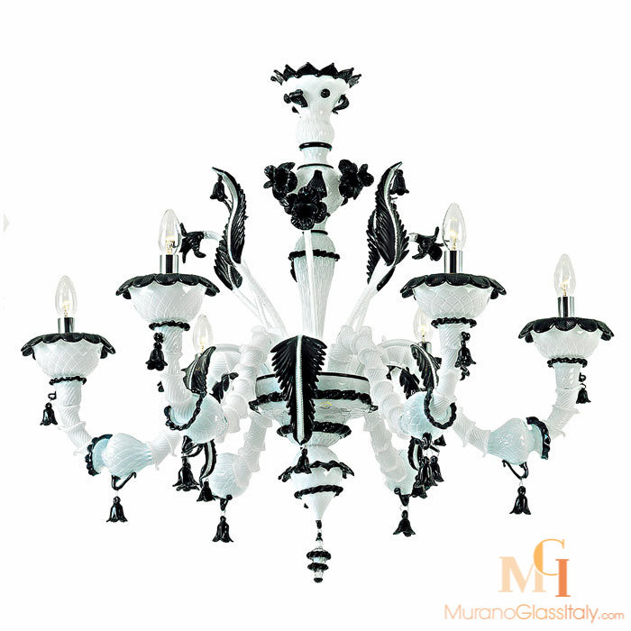 黑白进口欧式水晶灯