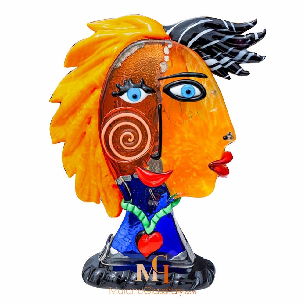 穆拉诺手工玻璃雕塑