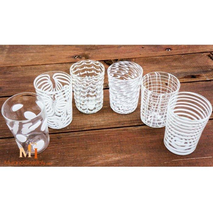 venetian glass tumblers