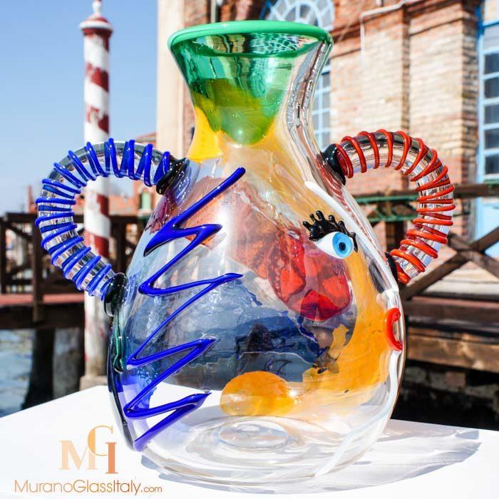 立体主义花瓶