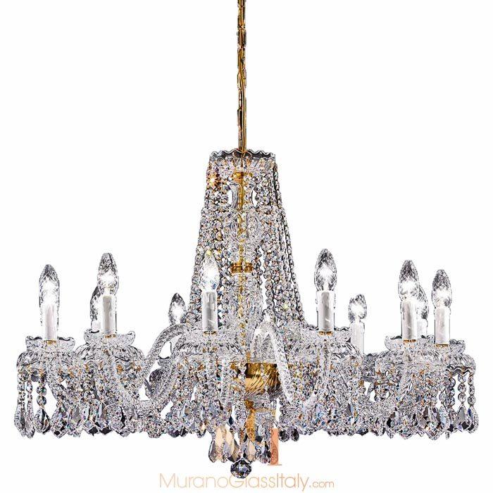 murano style chandelier Cenedese