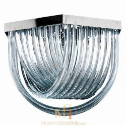 murano glass ceiling light Cenedese