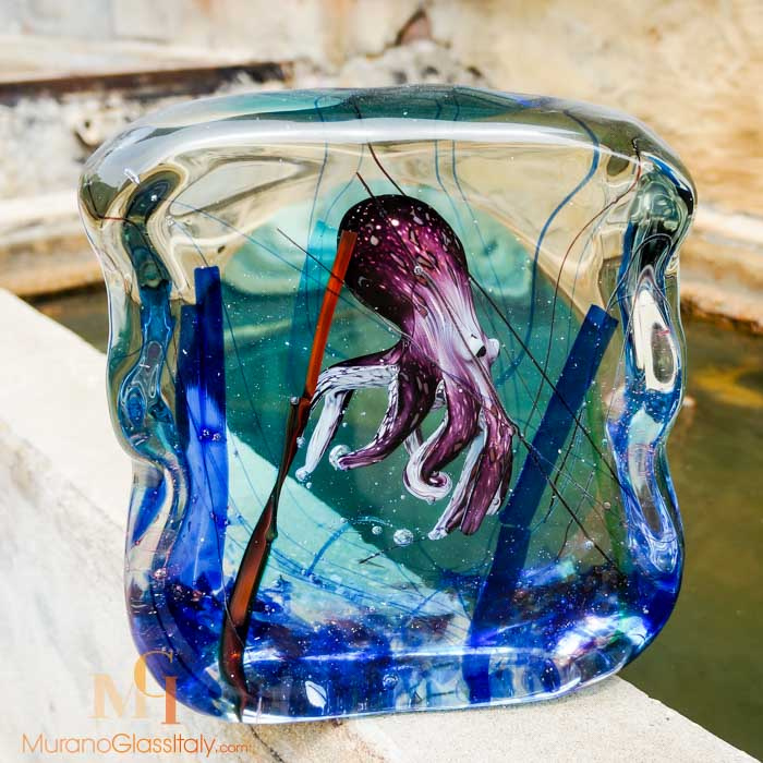Murano Glass Octopus