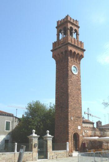 Campanile Santo Stefano, Murano, photography by Abxbay.