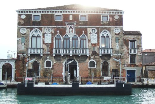 Palazzo Da Mula - Murano, photography by Unofeld781.