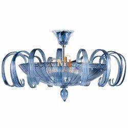 murano leaf chandelier
