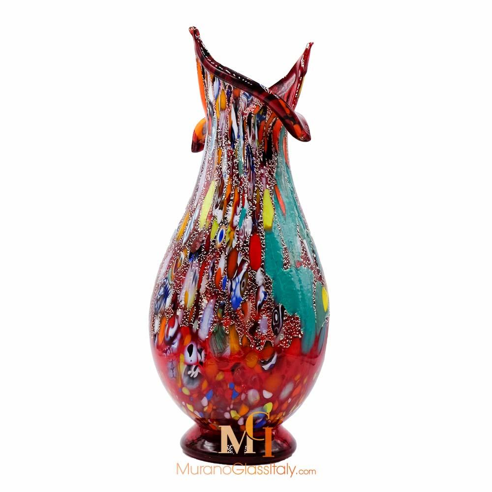 意大利手工吹制花瓶