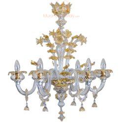 kronleuchter gold kristall