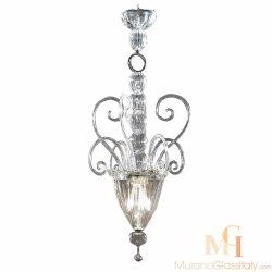 venetian glass pendant light
