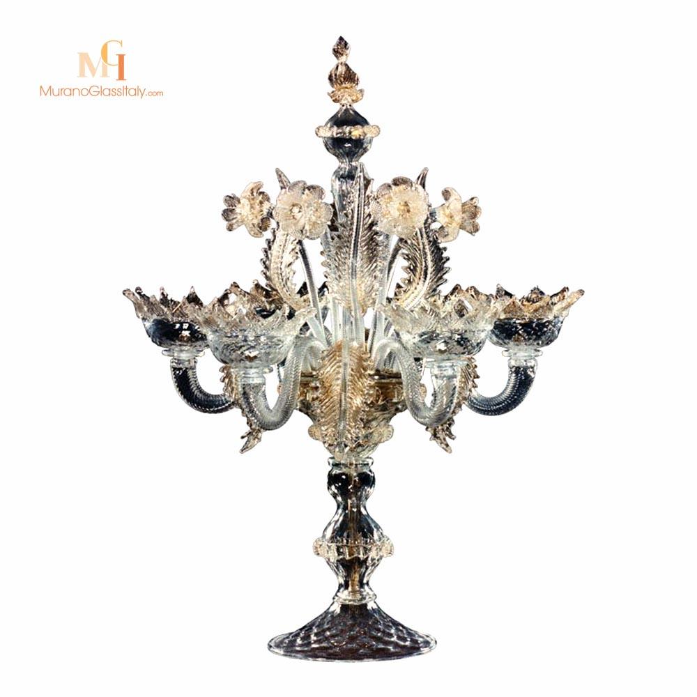 lampe en verre vénitien