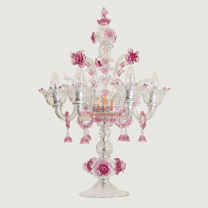 欧式奢华水晶蜡烛台灯