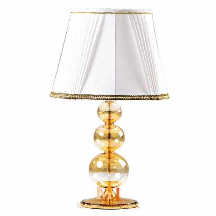 lampe de chevet en verre de murano
