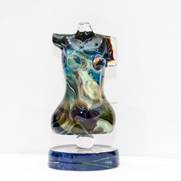nude glass sculpture