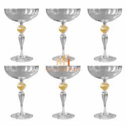 venetian glass stemware