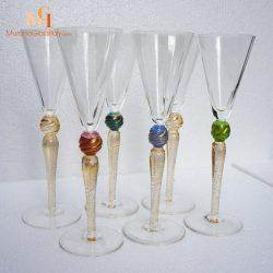 coupes champagne luxe murano