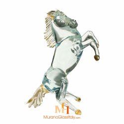murano verre cheval