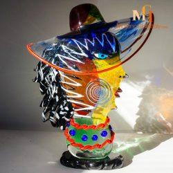 sculpture couleur murano