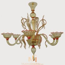 italian murano glass chandeliers