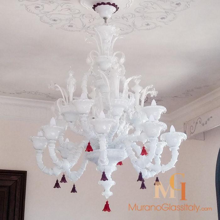 luxury venetian chandelier