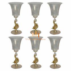 weingläser murano glas