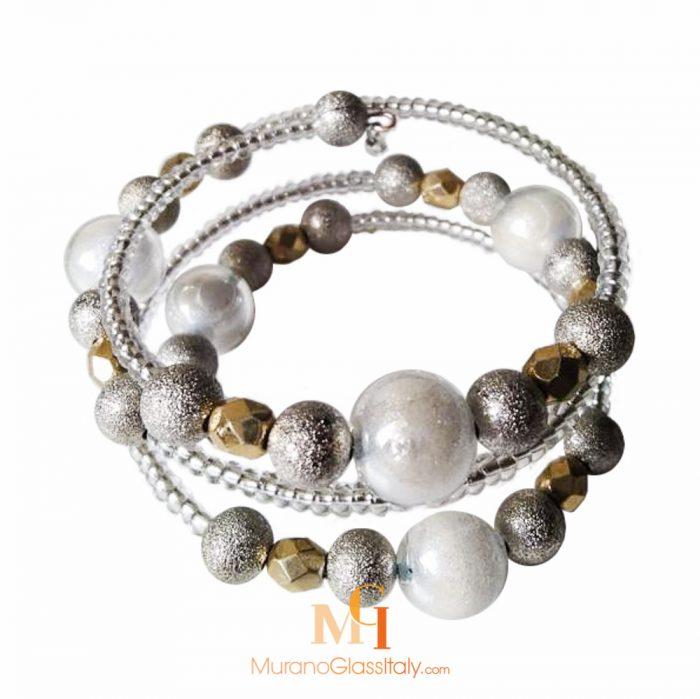 murano glasperlen armband