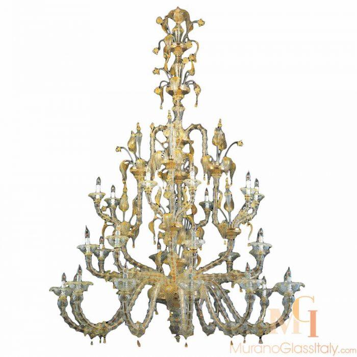 murano venetian chandelier