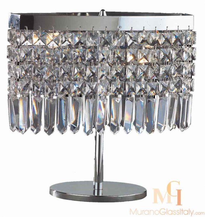 lampe en cristal