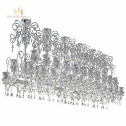 lustre salon cristal