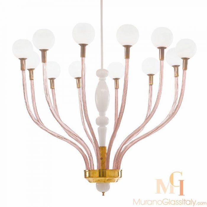 murano chandelier modern