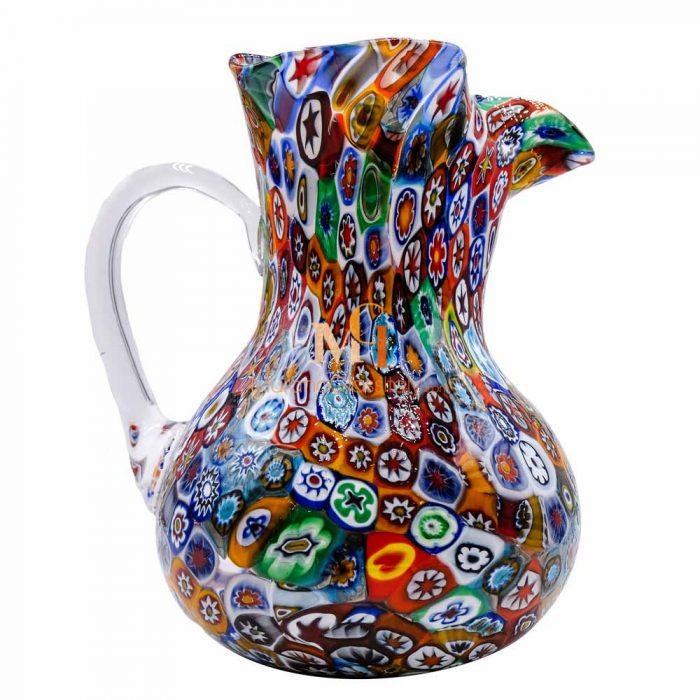 millefiori pitcher