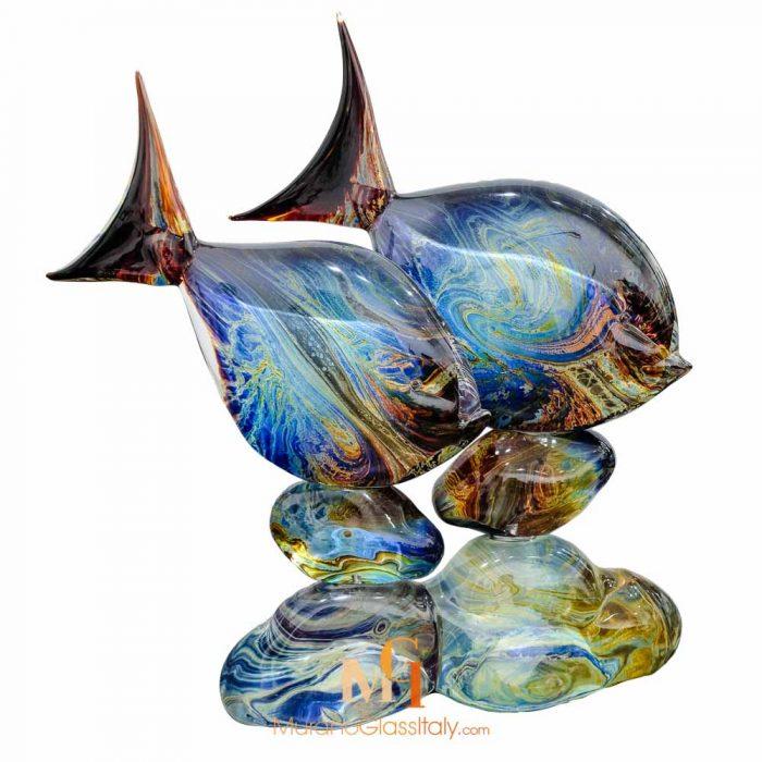 rare murano glass fish