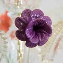 chandelier flower murano
