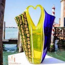 modern art glass vases