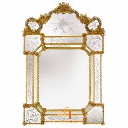 venetian mirror bathroom