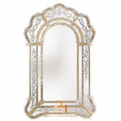 gold venetian mirror