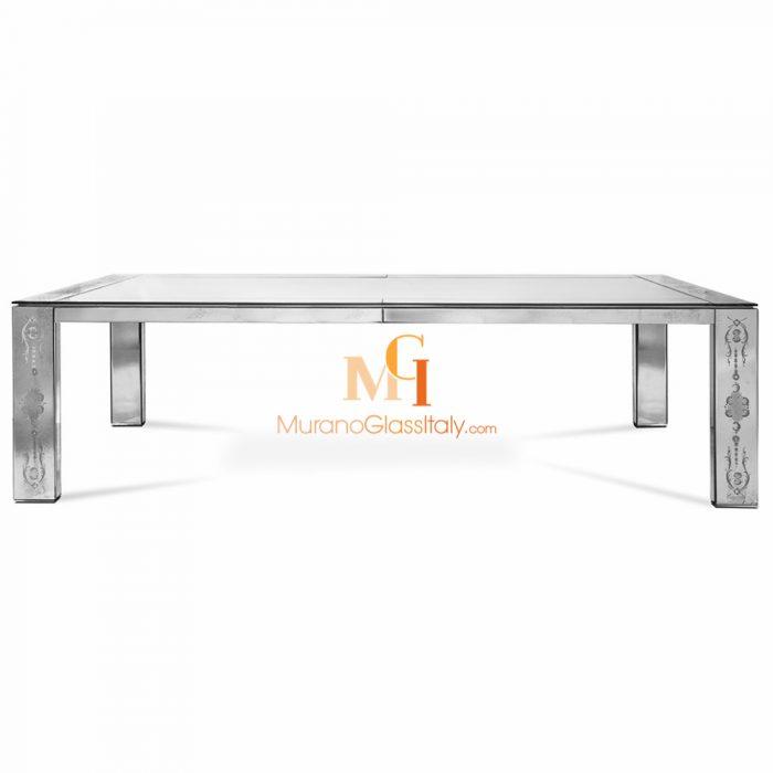table à manger en verre design
