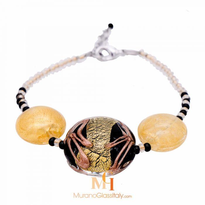 murano glass bracelet made in italy